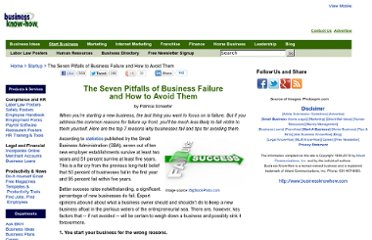 http://www.businessknowhow.com/startup/business-failure.htm
