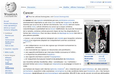 http://fr.wikipedia.org/wiki/Cancer