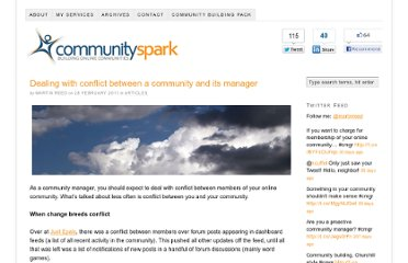 http://www.communityspark.com/dealing-with-conflict-between-a-community-and-its-manager/