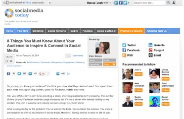 http://socialmediatoday.com/pammoore/274031/8-things-you-must-know-about-your-audience-inspire-connect-social-media