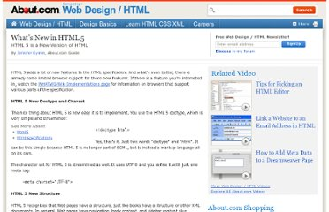 http://webdesign.about.com/od/html5/a/html_5_whats_new.htm