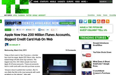 http://techcrunch.com/2011/03/02/apple-200-million-itunes-accounts/