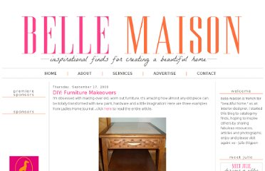 http://www.bellemaison23.com/2009/09/diy-furniture-makeovers.html