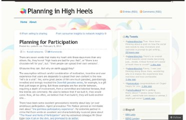 http://planninginhighheels.com/2011/02/08/planning-for-participation/