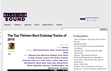 http://salacioussound.com/2010/07/the-top-thirteen-best-dubstep-tracks-of-2010/