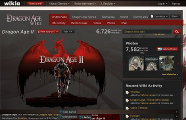 http://dragonage.wikia.com/wiki/Dragon_Age_II