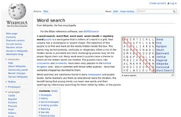 http://en.wikipedia.org/wiki/Word_search
