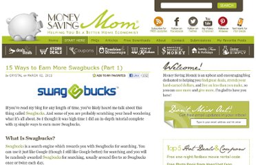 http://moneysavingmom.com/2011/03/15-ways-to-earn-more-swagbucks-part-1.html
