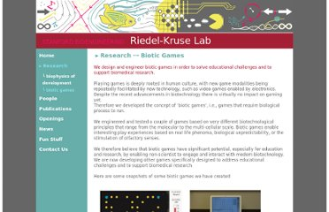 http://www.stanford.edu/group/riedel-kruse/research/biotic_games.html