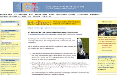 http://www.ictineducation.org/home-page/2011/3/3/13-reasons-to-use-educational-technology-in-lessons.html