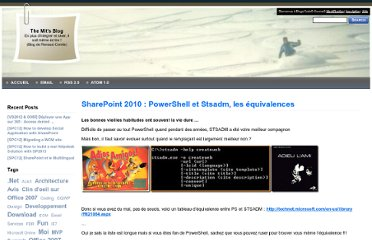 http://blogs.developpeur.org/themit/archive/2011/03/03/sharepoint-2010-powershell-et-stsadm-les-quivalences.aspx