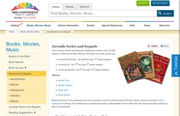 http://www.mymcpl.org/books-movies-music/juvenile-series