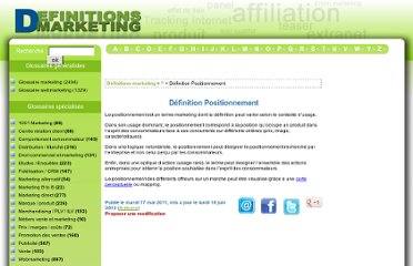 http://www.definitions-marketing.com/Definition-Positionnement?var_recherche=positionnement