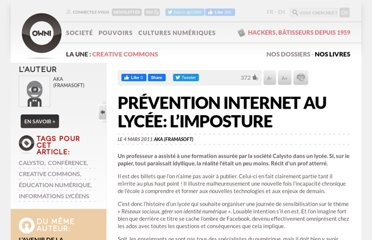http://owni.fr/2011/03/04/prevention-internet-au-lycee-limposture/