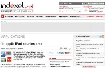 http://www.indexel.net/applications/11-applis-ipad-pour-les-pros-3146.html