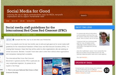 http://sm4good.com/2009/11/04/social-media-staff-guidelines-international-red-cross-red-crescent-ifrc/