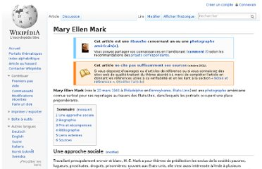 http://fr.wikipedia.org/wiki/Mary_Ellen_Mark