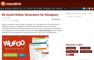http://www.instantshift.com/2011/03/04/60-useful-online-generators-for-designers/