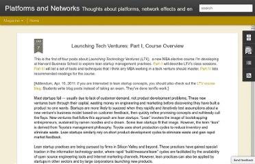 http://platformsandnetworks.blogspot.com/2011/01/launching-tech-ventures-part-i-course.html