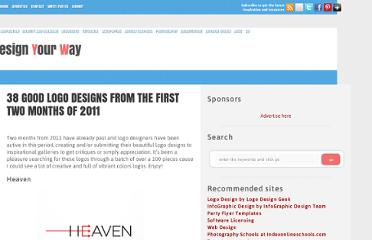 http://www.designyourway.net/blog/identity-and-branding/38-good-logo-designs-from-the-first-two-months-of-2011/