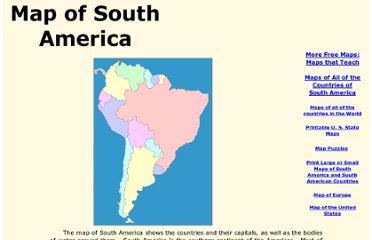 http://www.yourchildlearns.com/south_america_map.htm