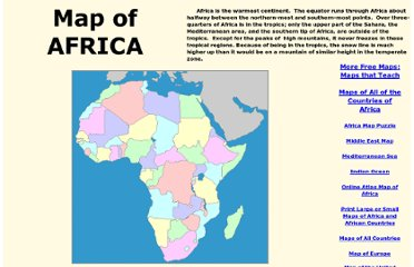 http://www.yourchildlearns.com/africa_map.htm