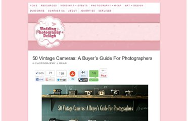 http://weddingphotography.com.ph/3664/50-vintage-cameras-a-buyers-guide-for-photographers/