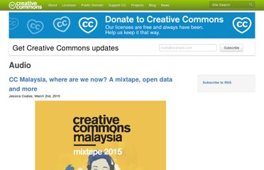 http://creativecommons.org/audio/