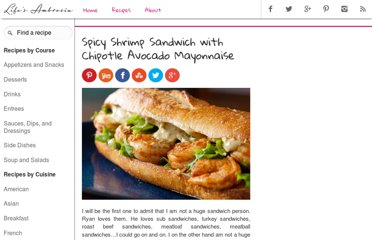 http://www.lifesambrosia.com/2010/09/spicy-shrimp-sandwich-with-chipotle-avocado-mayonnaise-recipe.html