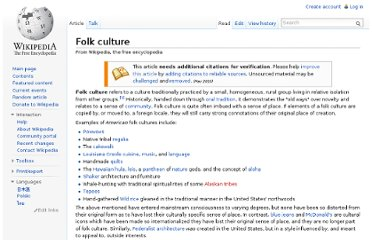 http://en.wikipedia.org/wiki/Folk_culture