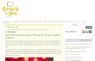 http://cookingupastory.com/introducing-insectary-plants-for-your-garden-video