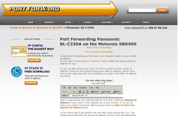 http://portforward.com/english/routers/port_forwarding/Motorola/SBG900/Panasonic_BL-C230A.htm