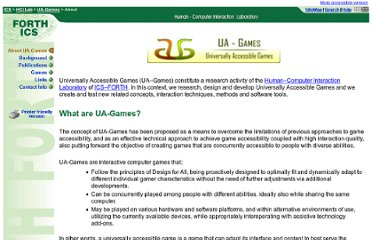 http://www.ics.forth.gr/hci/ua-games/index.html