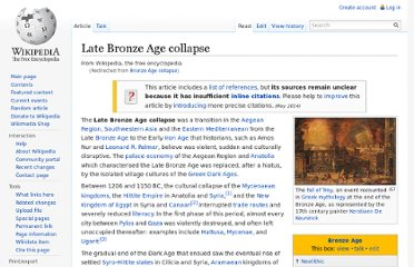 http://en.wikipedia.org/wiki/Bronze_Age_collapse