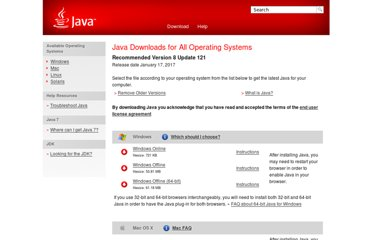 http://www.java.com/en/download/manual.jsp