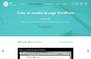 http://wpchannel.com/creer-modele-page-wordpress/