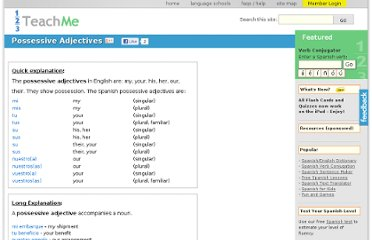 http://www.123teachme.com/learn_spanish/possessive_adjectives_1