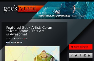 http://geektyrant.com/news/2011/3/4/featured-geek-artist-coran-kizer-stone-this-art-is-awesome.html