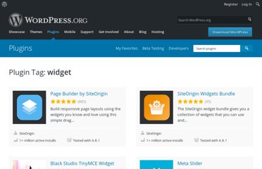 http://wordpress.org/extend/plugins/tags/widget