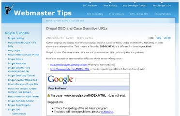 http://tips.webdesign10.com/drupal/drupal-seo-and-case-sensitive-urls-339.html