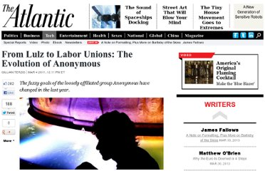 http://www.theatlantic.com/technology/archive/2011/03/from-lulz-to-labor-unions-the-evolution-of-anonymous/72001/