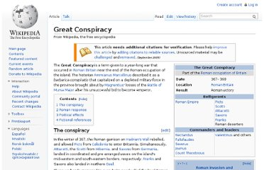 http://en.wikipedia.org/wiki/Great_Conspiracy