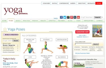 http://www.yogajournal.com/poses/finder/browse_categories?Contraindications=L04