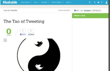 http://mashable.com/2009/12/03/the-tao-of-tweeting/