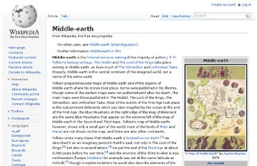 http://en.wikipedia.org/wiki/Middle-earth