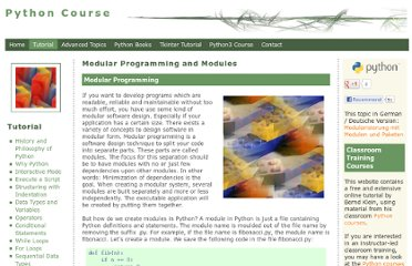 http://www.python-course.eu/modules_and_modular_programming.php