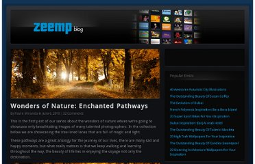 http://blog.zeemp.com/wonders-of-nature-enchanted-pathways/
