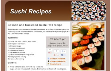 http://www.sushirecipes.org/salmon-and-seaweed-sushi-roll.html