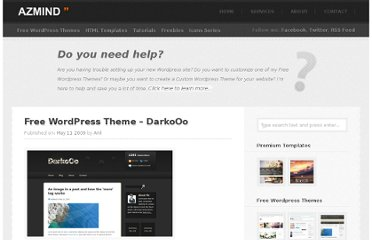 http://azmind.com/2009/05/11/free-wordpress-theme-darkooo/