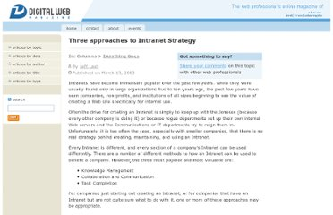 http://www.digital-web.com/articles/three_approaches_to_intranet_strategy/